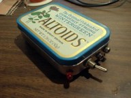 NT7S Code Practice Oscillator - In Altoids Tin