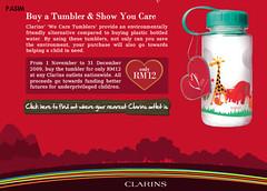 Clarins We Care