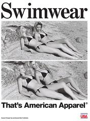 American Apparel - summer 2011 ADS