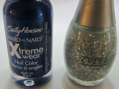 Sally Hansen Blue It + Ever bi Lena Holographic Glitter
