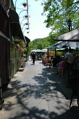 Creekside Dining in Downtown Ashland, Oregon