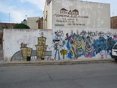 Grafitti robot