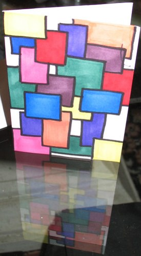 Abstract- rectangles