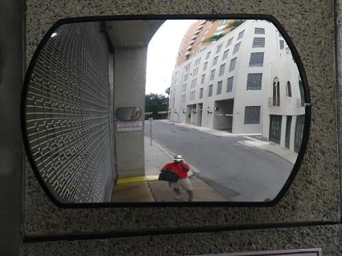 Big Mirror...Little Me
