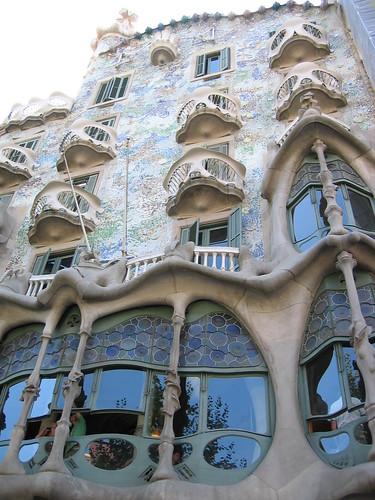 Gaudi building, Barcelona