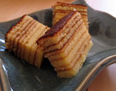 Kuih Lapis (or layered cake) by by sniffles on flickr