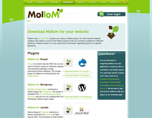 Mollom Featured
