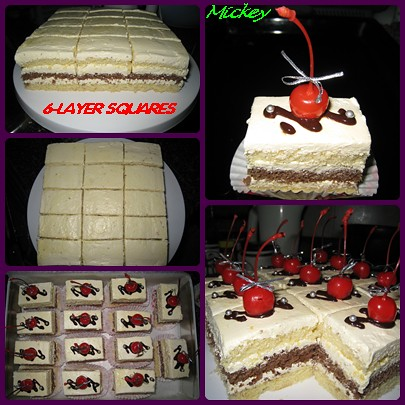 6-layer squares by you.