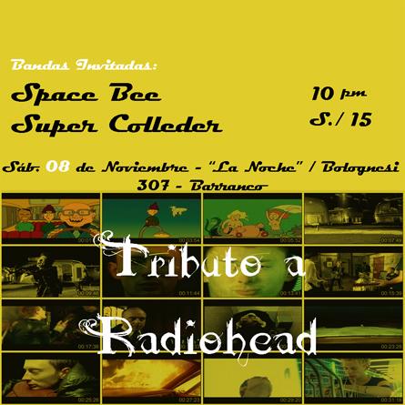 Afiche Radiohead