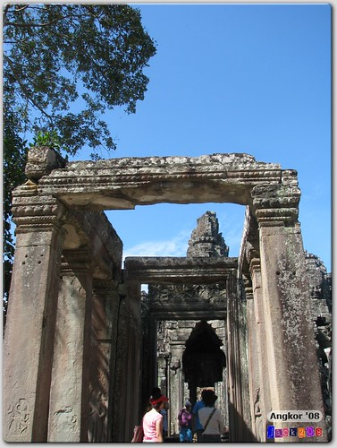 Arched doorways to the Bayon