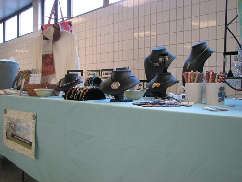 Table at Saturday's vendor thingy