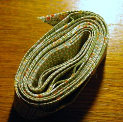 Binding for the Pinwheel Quilt