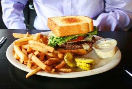 elbow burger