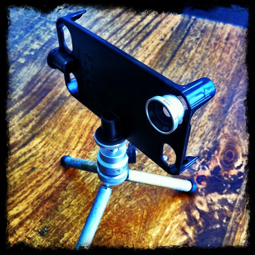 SnapMount with mini Wide Angle