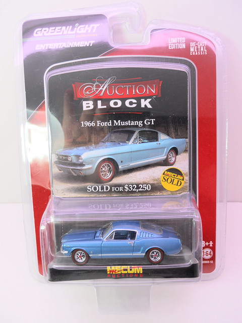 greenlight auction block 1966 ford mustang gt (1)