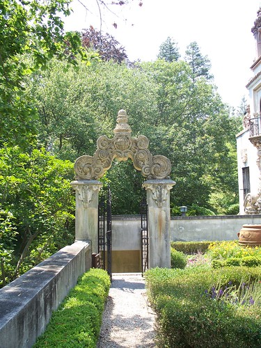 Garden Gate in Sundial Garden