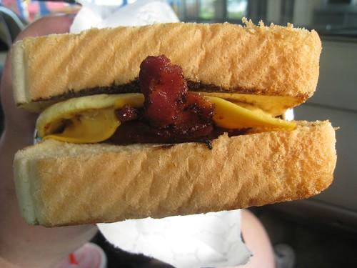 Bacon, Egg, & Cheese Breakfast Toaster