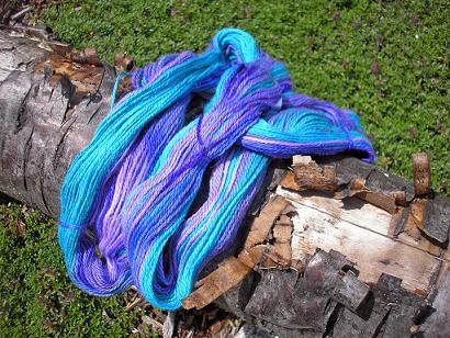 Krystal Acres Royal Baby Alpaca Teal and Purple (4)