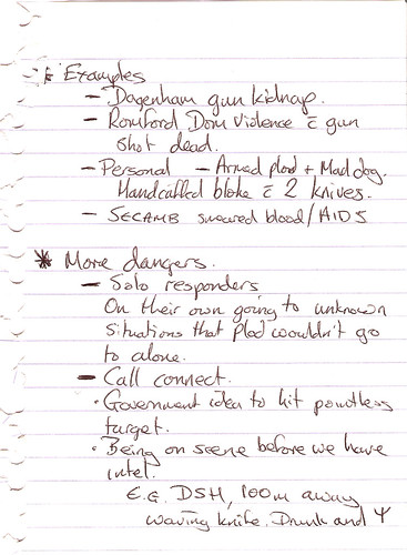 Notes On Assaults 3