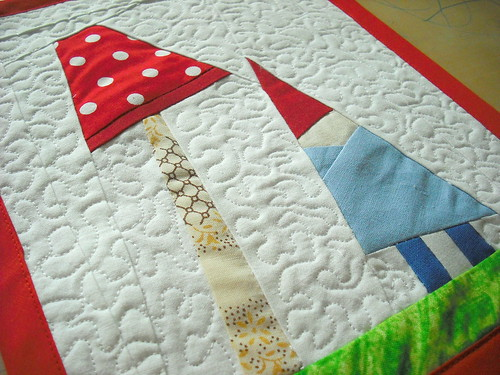 Gnomlette Mini Quilt
