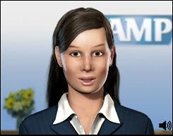 Sam, AMP's CyberTwin