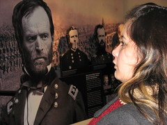 When in town, stare down Sherman