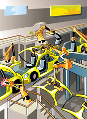 Car Factory Assembly Line