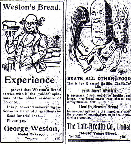 Vintage Ad #537: Battle of the Breads by jbcurio.