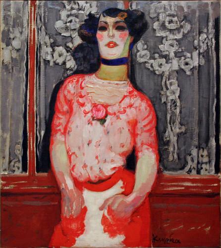 Frantisek Kupka - Gallien's Taste (Cabaret Actress) by ahisgett.