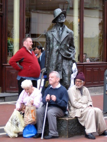 James Joyce statue - Dublin