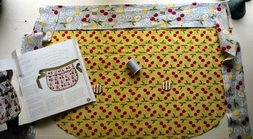 New apron in progress