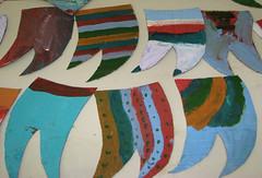 Bandeirinhas inspiradas em Volpi