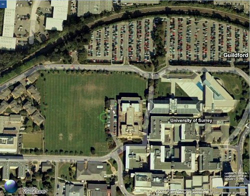 A large chunk of our campus for reference