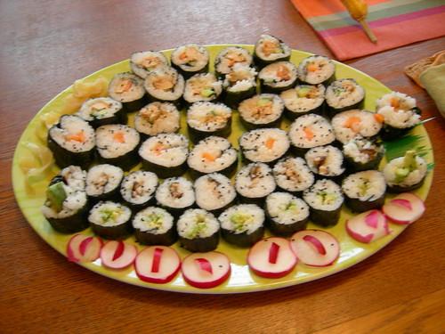 Spooky sushi
