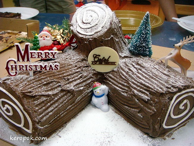Christmas Log Cakes from Getel