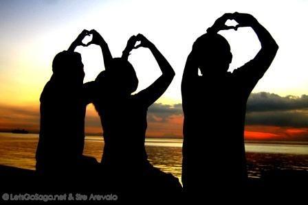 Manila  Bay Sunset Love