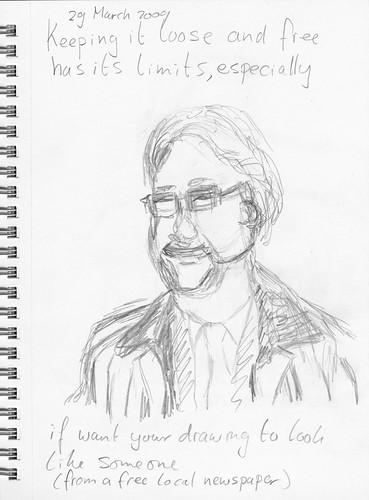 Ton Linssen - first sketch