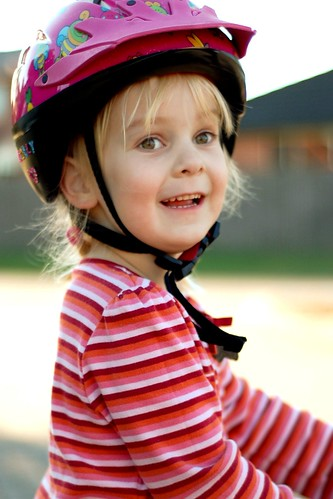 the happy cyclist