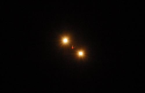 A plane through my telescope