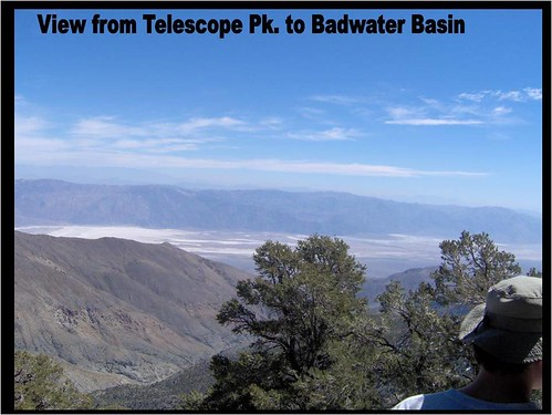 On the last day, the group hiked partially up Telescope Peak, which is the mountain just to the west of Death Valley and Badwater Basin.