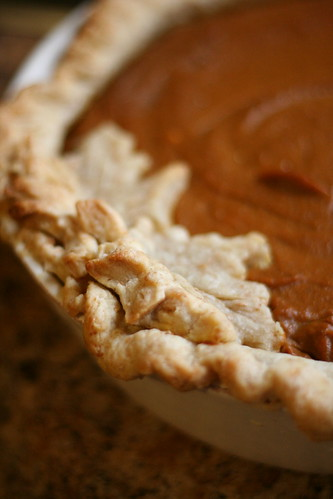 Pumpkin pie.