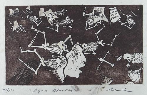 """Aguas Blancas"" . Print by Nicolas de Jesus"