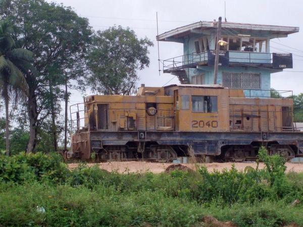 Demba medium sized locomotive, MacKenzie, Guyana