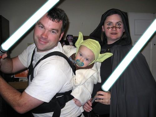 Halloween Lightsabers
