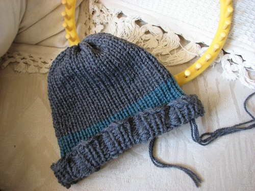 Slightly wonky hat for my brother