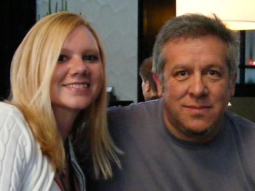 Amybeth with Joel Postman