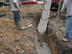 Pouring Foundation Footer