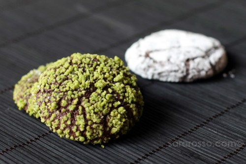 Pistachio and Chocolate Crinkles Cookies Recipe from Field Guide to Cookies