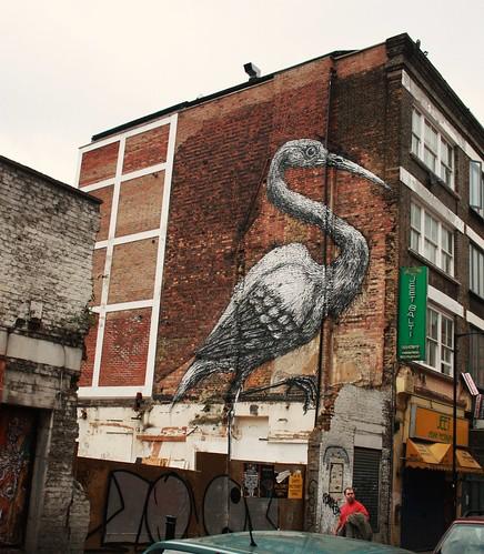 Crane by ROA