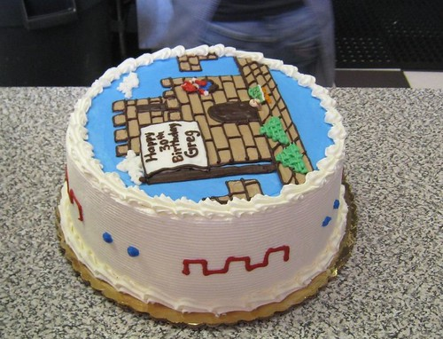 Greg's Birthday Cake